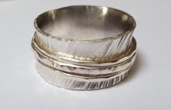 Silver Spinning Ring £44.00 +