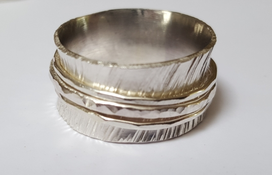 Silver Spinning Ring £44.00 +