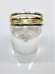 Eco-Silver and Eco-Gold Stacking Rings