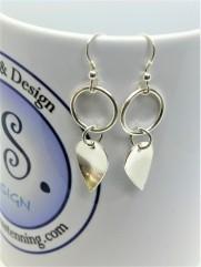 Petal drop Earrings. £34.00